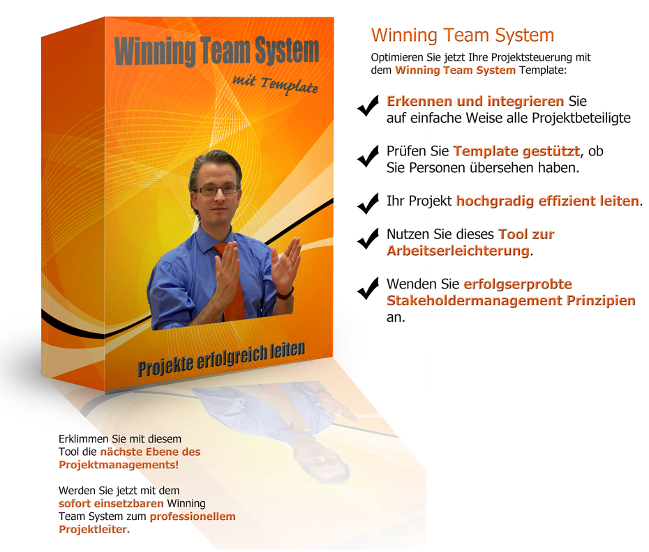Winning Team System mit Template