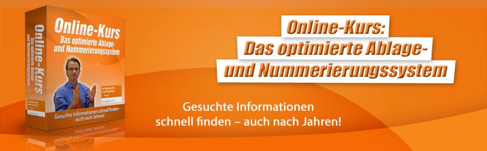 Ablage- und Nummerierungssystem